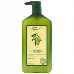 CHI OLIVE ORGANIC šampūnas ir kūno prausiklis...