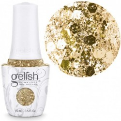 Gelish gelinis lakas ALL THAT GLITTERS IS GOLD...