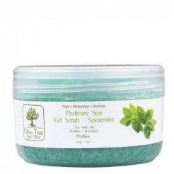 Olive Tree gel scrub REFRESHING MINT šveitiklis...