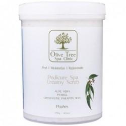 Olive Tree creamy scrub šveitiklis kojoms 1150g.