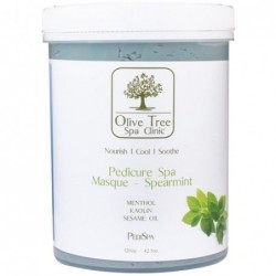 Olive Tree masque REFRESHING MINT kaukė kojoms...
