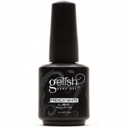 Gelish french white gel baltas su teptuku 15ml.