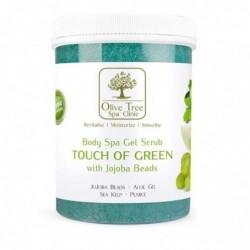 Olive Tree gel scrub TOUCH OF GREEN šveitiklis...