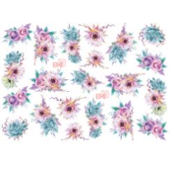 NAILCRUST 5D #6 Flowers