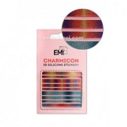 Charmicon 3D Silikoniniai lipdukai Nr. 102 Lines