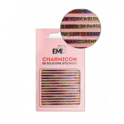Charmicon 3D Silikoniniai lipdukai Nr. 103 Words