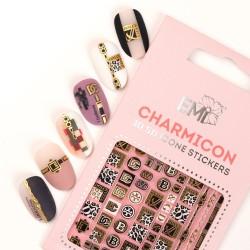 Charmicon 3D Silicone Stickers 140 Dolce Vita