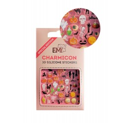 Charmicon 3D Silicone Stickers Halloween
