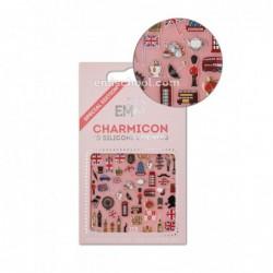 Charmicon 3D Silikoniniai lipdukai England