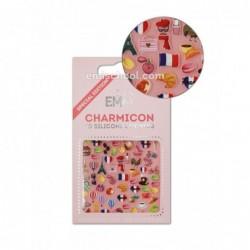 Charmicon 3D Silikoniniai lipdukai France Nr. 1