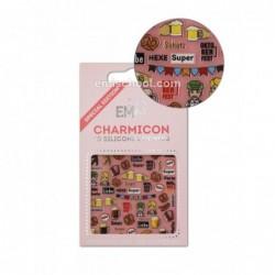 Charmicon 3D Silikoniniai lipdukai Germany Nr. 2