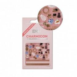 Charmicon 3D Silikoniniai lipdukai Greece