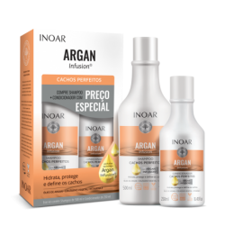 INOAR Argan Infusion Perfect Curls Duo Kit -...
