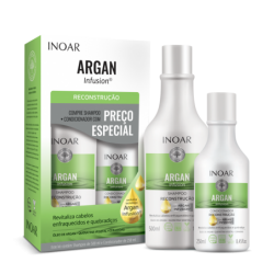 INOAR Argan Infusion Reconstruction Duo Kit -...