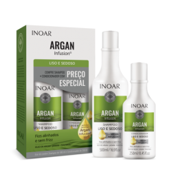 INOAR Argan Infusion Smooth and Silky Duo Kit -...