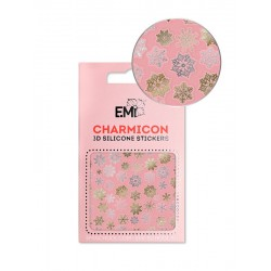 Charmicon 3D Silicone Stickers 151 Snowflakes...