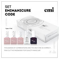 Rinkinys E.Mi manicure Code 9ml